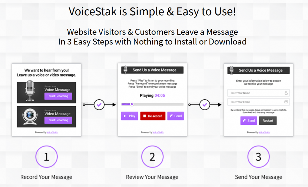 what is voicestak